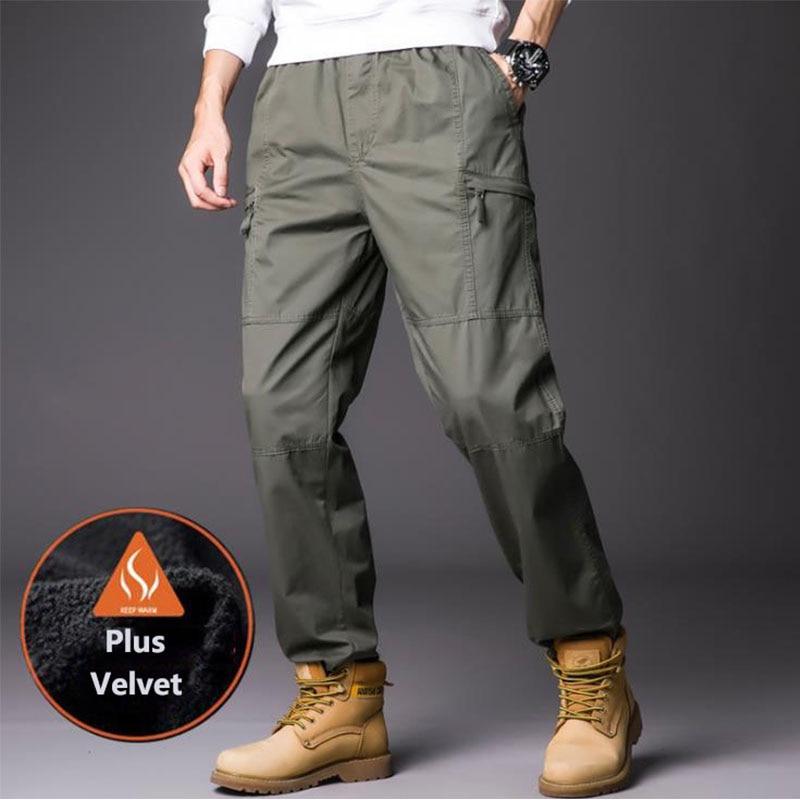 Pantalones Termicos Gruesos De Algodon Para Hombre Pantalon Tactico De Talla Grande Para Exteriores Resistente A Los Aranazos Para Entrenamiento De Escalada Transpirables Twy Store