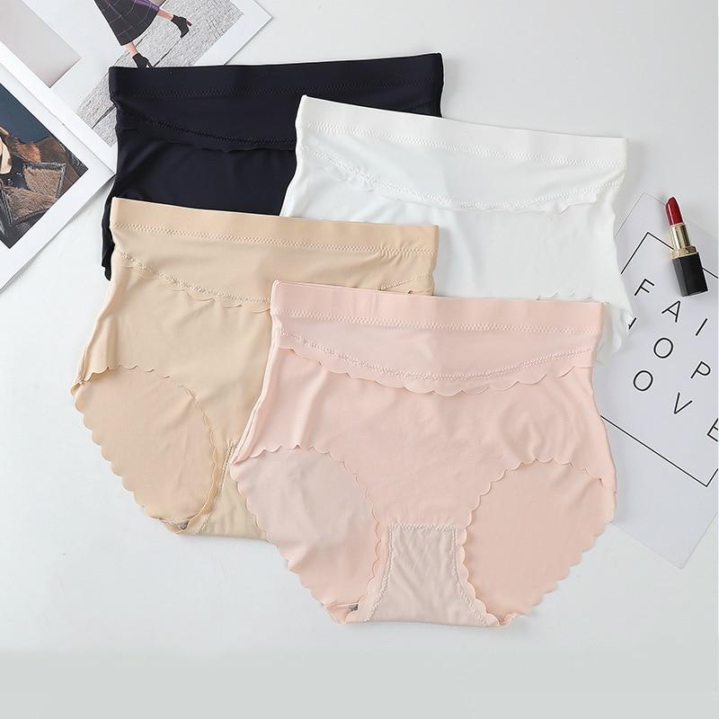 Купить женские бесшовные трусики со средней талией удобное нижнее белье