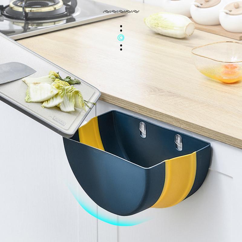 Мусорное ведро для кухни, складное мусорное ведро для фруктов и овощей, Кухонное мусорное ведро для хранения мусора, Кухонное мусорное ведро|Мусорные баки|   | АлиЭкспресс