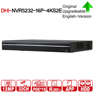Image 1 - DH Pro 32CH NVR NVR5232 16P 4KS2E With 16CH PoE Port Support Two Way Talk e POE 800M MAX Network Video Recorder For System.