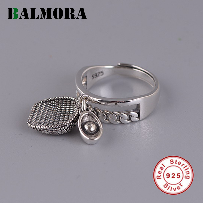 Authentic 100/% 925 Sterling Silver Jewelry Double Triangle Pattern Open Rings for Women Japan Jewelry