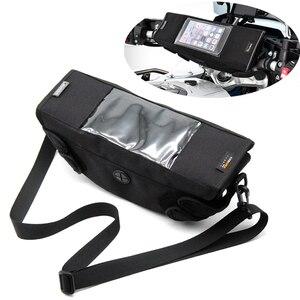 Сумка на руль мотоцикла, Магнитная сумка для велосипеда с экраном GPS для HONDA CB500X NC700X NC750X VFR1200X CRF1000L, Африканское двойное