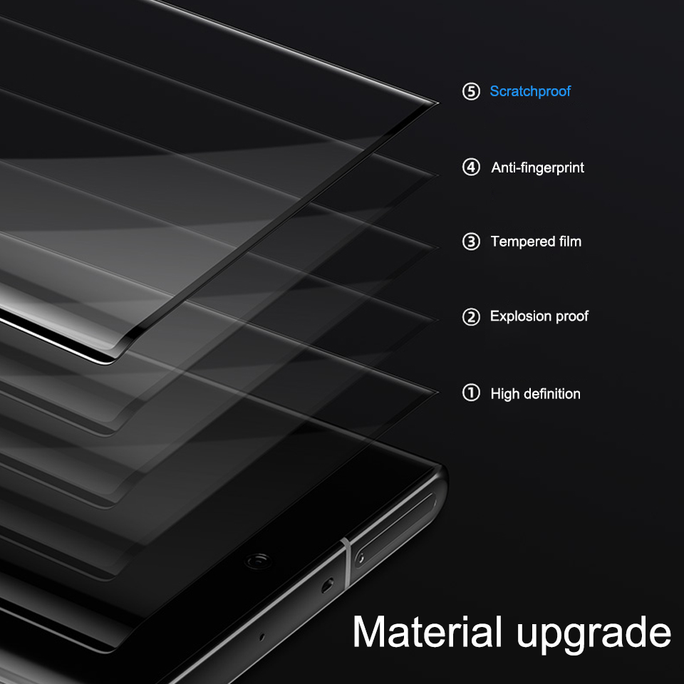 Image 4 - Tempered Glass For Samsung Galaxy Note 10 Plus Phone Glass Screen Protector Film For Samsung Note 10plus 10 Pro Protective Film-in Phone Screen Protectors from Cellphones & Telecommunications