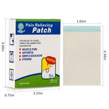 KONGDY Marke 30 Teile/schachtel Pflanzliche Menthol Geschmack Selbst Adhesive Medical Gips Pain Relief Patch Schmerzende Muskeln Paprika Gips