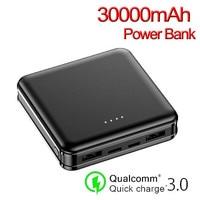 Mini Power Bank s 30000mAh batteria esterna caricabatterie esterno portatile Powerbank 2 interfaccia USB Power Bank ricarica rapida
