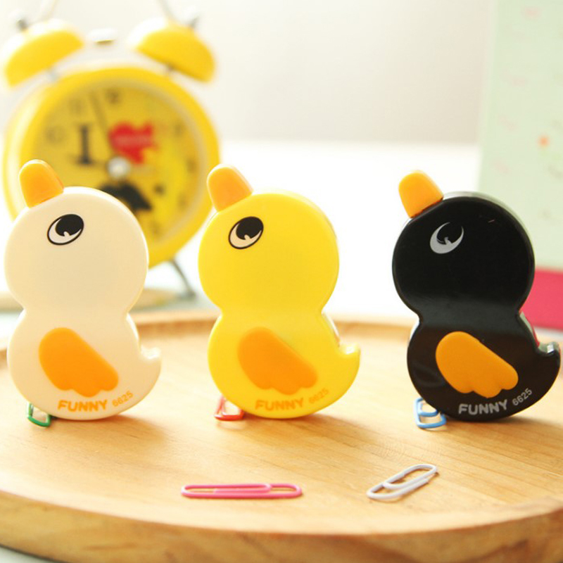 Kawaii Funny Duck Correction Tape 6m*5mm Plastic Material Escolar Creative Cartoon Stationery Office School Supplies Papelaria