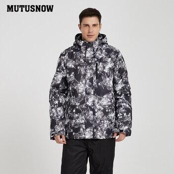 Snowboard Jacket Men 2019 New High Quality Windproof Waterproof Warmth Coat Snow Male Winter Sportswear Ski Jackets Warm Brands