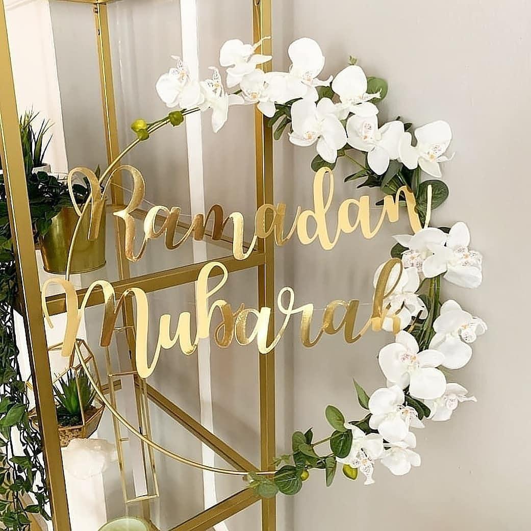 1 conjunto diy 10-40cm ferro metal anel de madeira artesanato guirlanda flores para eid mubarak ramadan decoração de festa presente de casamento decoração de casa