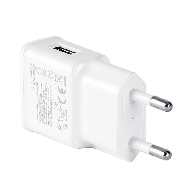 Przenośna podróż do domu 5V 2A pojedyncza ładowarka USB do telefonu Adapter do ochrony prądu ścienna wtyczka do ładowania Samsung Huawei tanie tanio BLUELANS CN (pochodzenie) NONE