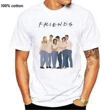 Freunde kleidung-TV Zeigen F.R. ICH. E.N.D.S t-shirt Amigos camiseta sitcom Freunde Kühlen Casual stolz t hemd männer Unisex Mode
