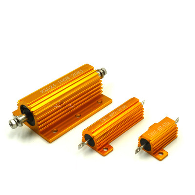 RXG24 250W Aluminum Shell Housed Case Power Wirewound Resistor+5%-5%100/150/200/300/500 Ohm 1pc