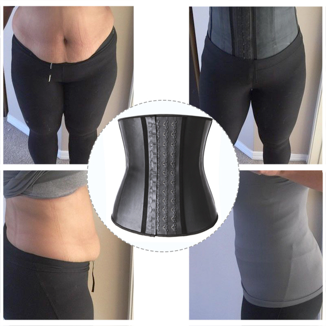 Shapewear Latex Waist Trainer Belt Slimming Waist Cincher Body Shaper Tummy Trimmer Long Torso Girdle Corset Modeling Strap 4