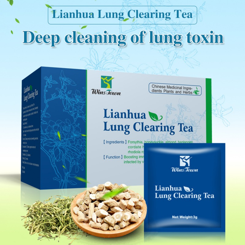 20 Pcs Lianhua Qingwen Lung Clearing Tea Enhance Immunity And Prevent Hepatitis C Infectious Pneumonia Enhance Body Function
