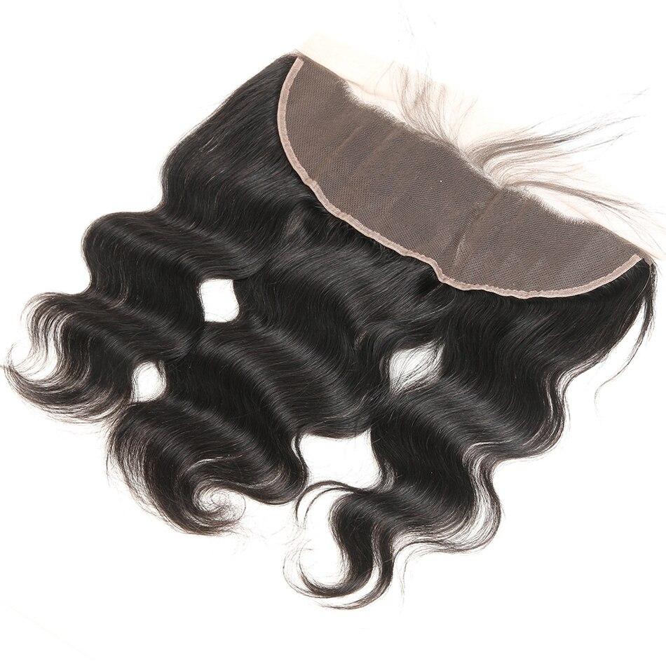 body wave human hair bundles brazilian body wave hair with lace frontal 02