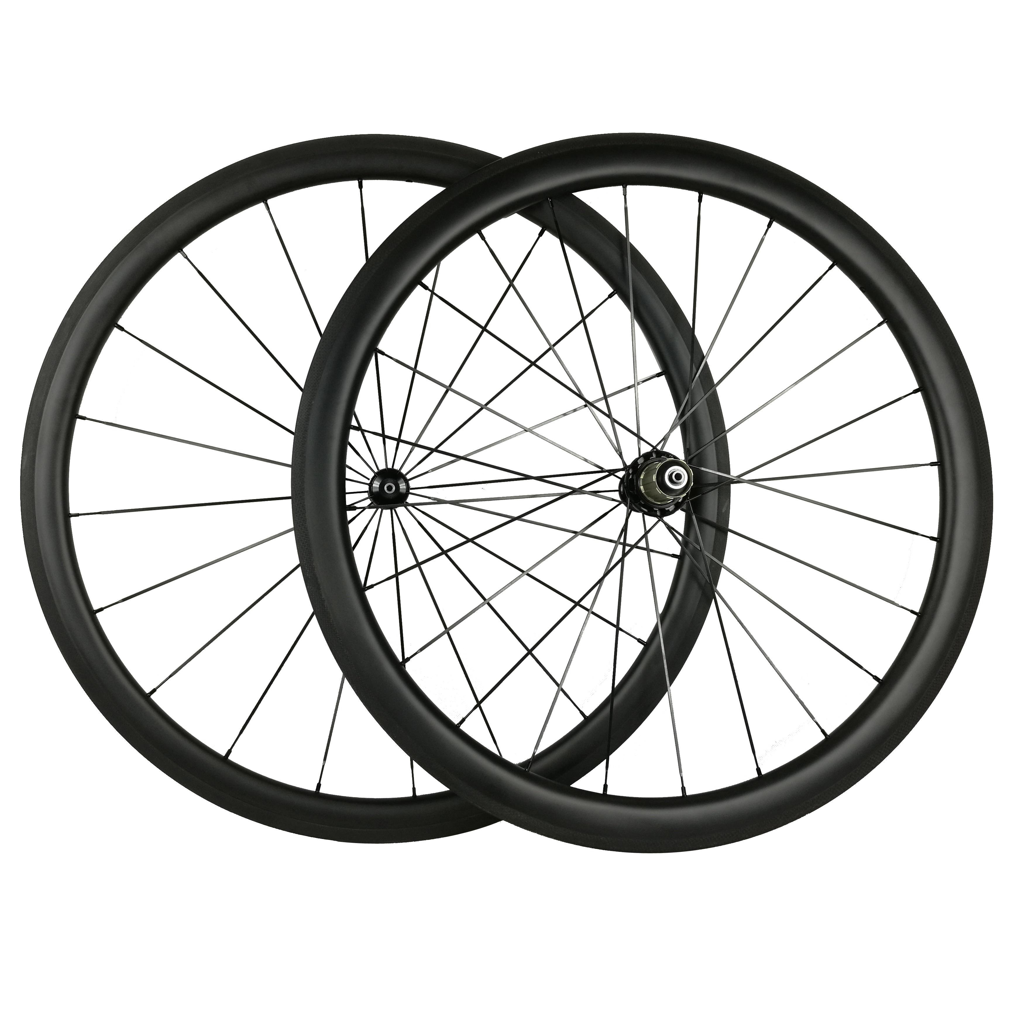 Carbon Wheels Clincher 700C Straight Pull R36 Hub Roue Carbone 30/50/88MM Pneu Wheels Bike Road 25MM Width U Shape(China)