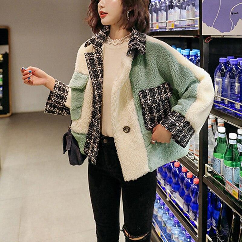 2019 hiver arrivée femmes coton moelleux à manches longues veste dames chaud survêtement Cardigan manteau