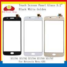 цена на 10Pcs/lot Touch Screen For Motorola Moto G5S XT1791 XT1792 XT1794 XT1795 Touch Panel Digitizer Sensor Front Outer LCD Glass Lens