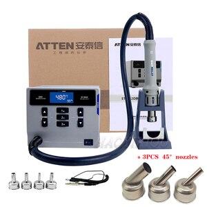 Image 1 - ATTEN ST 862D lead free hot air gun soldering station Intelligent digital display 1000W rework station For PCB chip repair