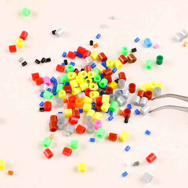 baby toys 3000 pcs/Bag 5mm Hama Beads Beads strijkkralen Diy Intelligence Educational Toys Puzzles strijkkralen