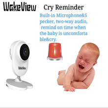 цена на WakeView 1080P 4.3 inch Wireless Video Color Baby Monitor High Resolution Baby Security Camera Night Vision Temperature Monitor