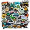 go hike stickers