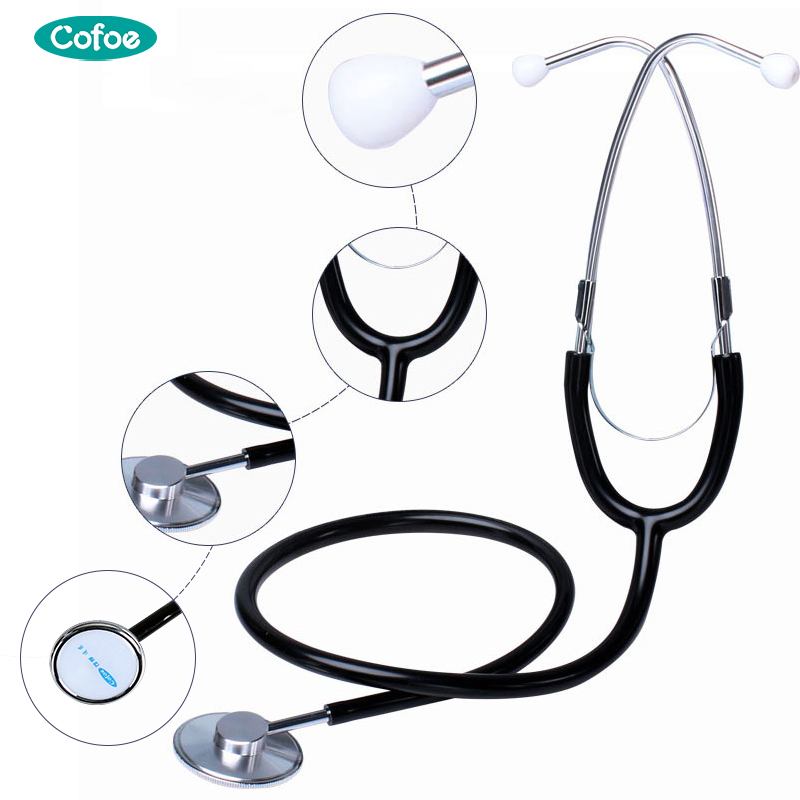 Cofoe Medical Stethoscope Doctor Medical Equipment&Home For Pregnant, Baby, Child Professional Stethoscope Nurse Medical Device