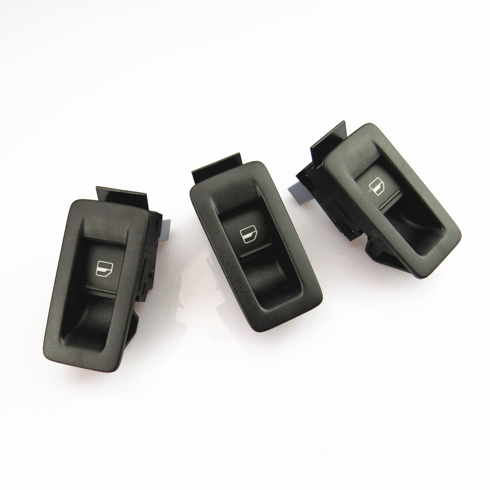 TUKE 1-3Set Side Window Glass Adjustment Switch +Panel Frame For VW Passat Touran Tiguan <font><b>Sharan</b></font> Jetta 5 Golf Touareg 1KD959855 image