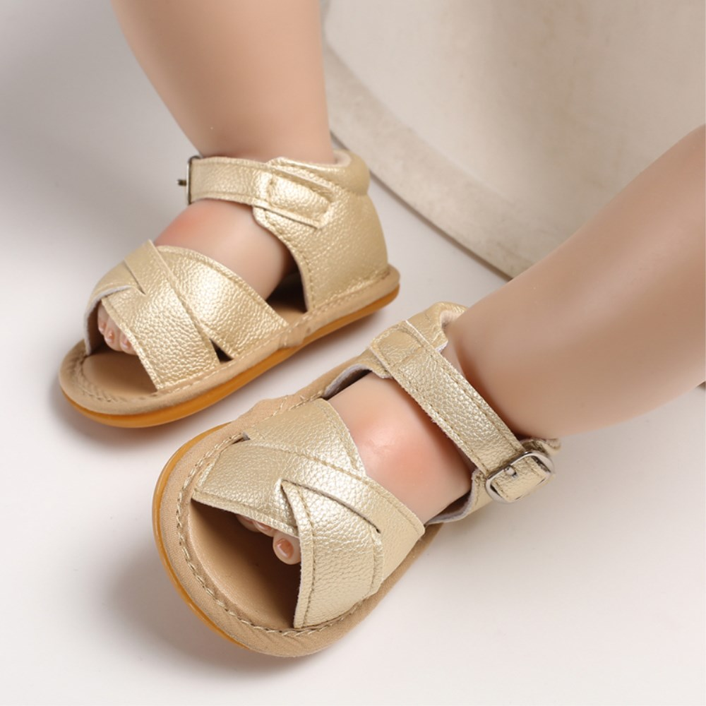 Lovely Infant Newborn Baby Girls Toddler Summer Soft Sole Sandals Shoes Sandals