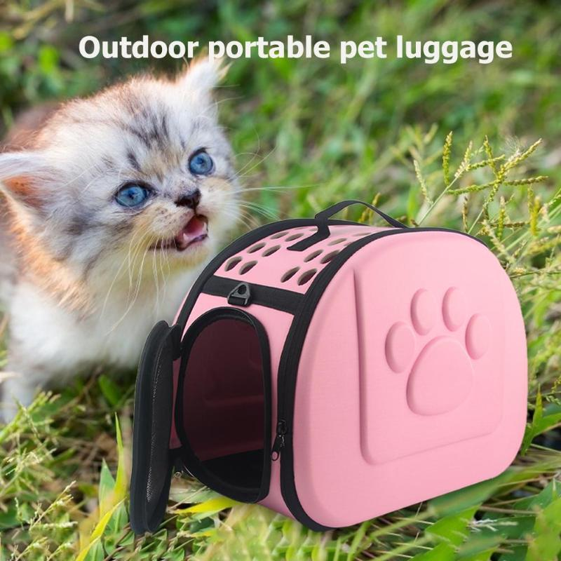 EVC Pet Carrier Bag for Dogs Cats Cage Portable Foldable Outdoor Travel Cat Puppy Carrying Bag Handbag Pets Supplies