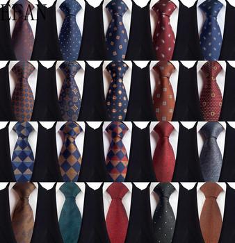 Nowe męskie krawaty Retro w paski z tkaniny tureckiej w kwiaty Plaid stałe krawaty na krawaty Gentleman Business Man krawat ślubny hurtownia na zamówienie tanie i dobre opinie EFAN WOMEN Chłopcy Dziewczyny moda SILK POLIESTER CN (pochodzenie) Dla osób dorosłych muszki Jeden rozmiar GEOMETRIC