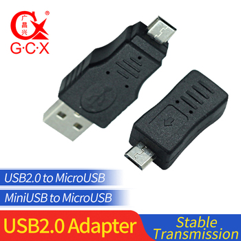 цена на USB Male to Micro USB Male charging Adapter Mini USB 5 Pin Female Plug Converter Charger  For PC Computer MP3 Samsung Android