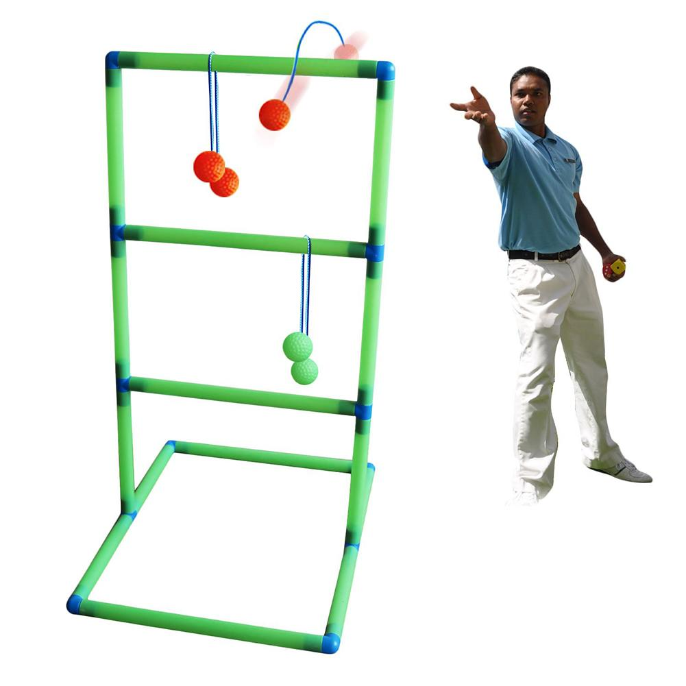 Golf Products Ladder Ball Game Outdoor Tool Backyard Lawn Camping Children's Indoor Sports Toy Ball Golf Trainer For Adults Kids