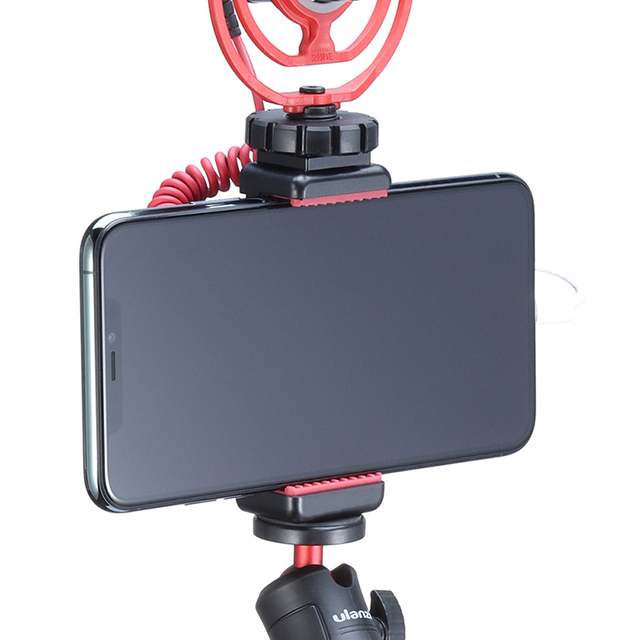 ST-07 Cold Shoe Phone Mount Holder