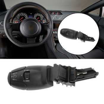 1 Pc przełącznik tempomatu dla Citroen C3 C5 C8 Peugeot 207 307 308 407 607 3008 tanie i dobre opinie CVBNVN 6242Z8 6242Z9 Plastic 4 5cm 1 Pc Cruise Control Switch China Handle
