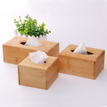 Wooden Tissue Box Creative Retro Paper Extraction Living Room Desktop Solid Wood