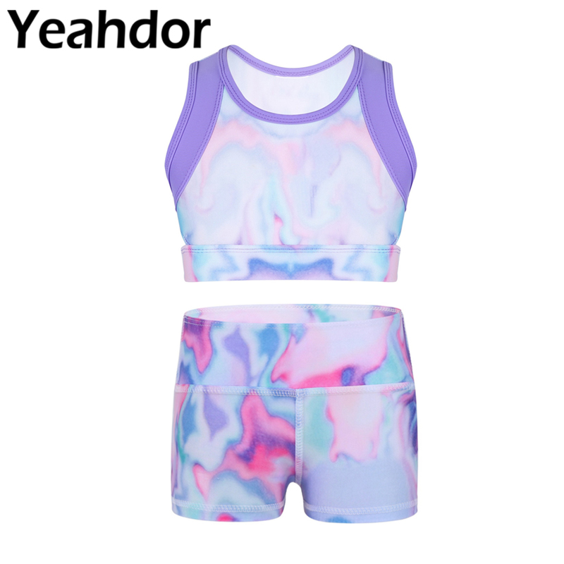 Yeahdor Girls Kids High Cut Ballet Dance Briefs Athletic Sports Gymnastics Shorts Underpants