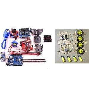 Avoid Smart Tracking Robot Motor Kit Car Chassis Speed Encoder Battery Box 2wd Module For Arduino Kit