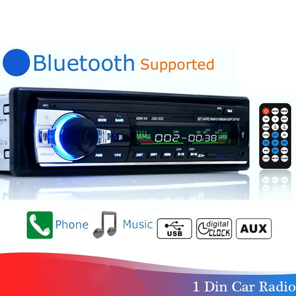 Автомобильная электроника Bluetooth 2,0 Беспроводная Автомобильная стерео радио MP3 медиаплеер u-диск громкий динамик аудио аксессуары