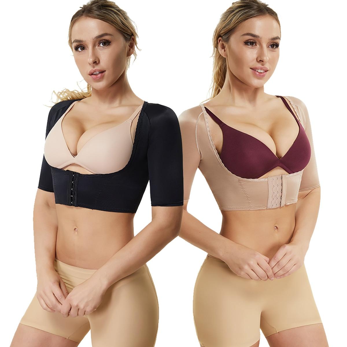 Joyshaper Chest Brace Up Women Posture Corrector Shapewear Breast Back Support X Strap Bra Support Shaper Vest Tops