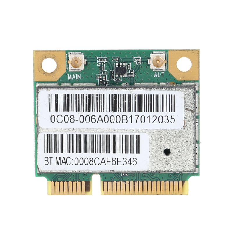 AW-NB097H AW-NB126H AR9485 AR5B225 Half Mini PCI-Express BT4.0 Wireless Card Kit
