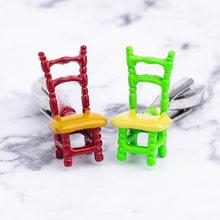 Новинка мужские запонки забавные в форме стула разноцветные