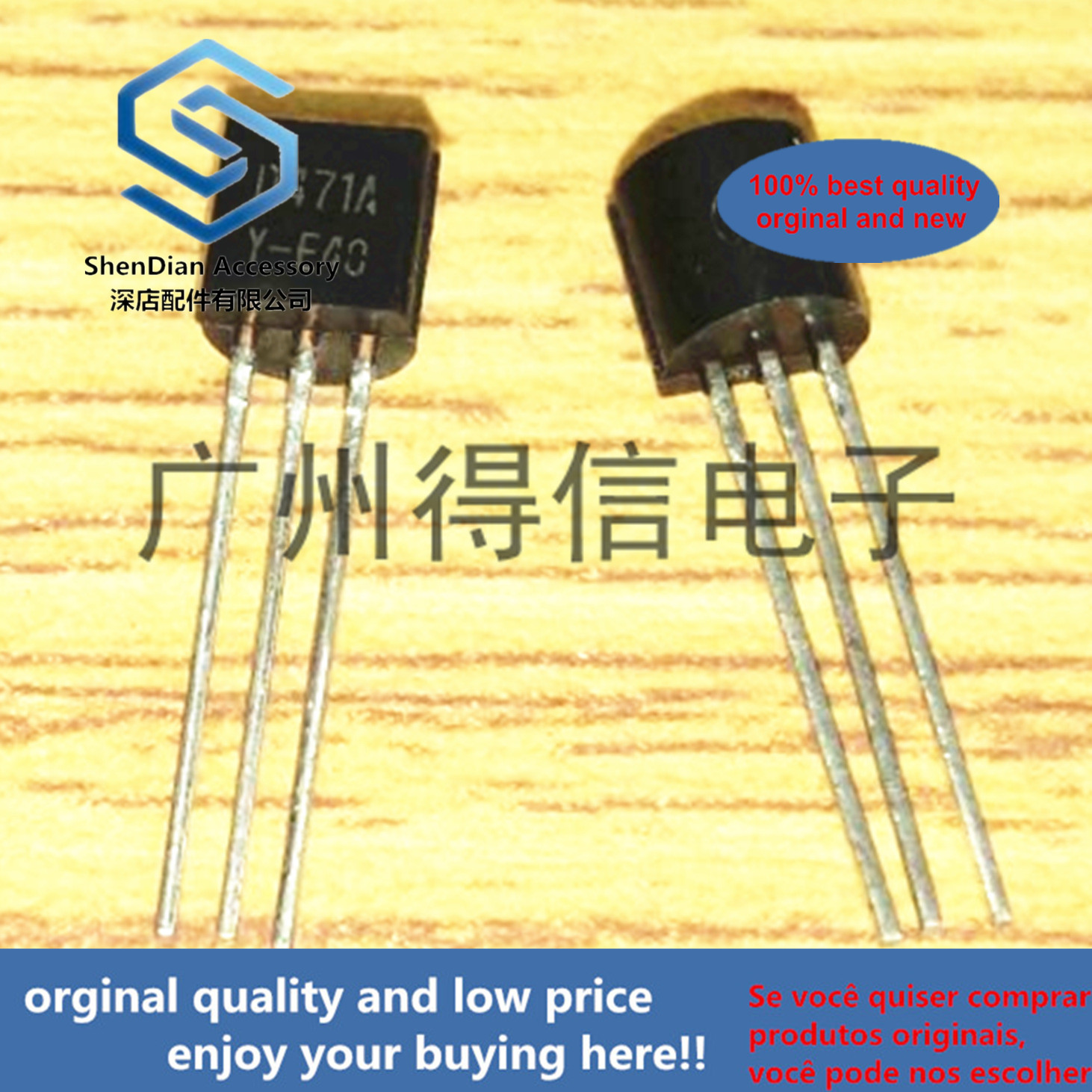 30pcs 100% Orginal New KSD471A D471A 471 TO-92 TO-92 Audio Frequency Power Amplifier  Real Photo