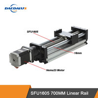 CNC Linear Guide Stage SFU1605 700MM Rail Motion Table Ball Screw Actuator With Nema23 Motor For 3D Printer Parts XYZ