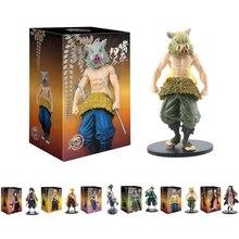 Anime Demon Slayer Figure Kamado Tanjirou Nezuko Action Figures PVC Model Toys Zenitsu Figurine Inosuke Kimetsu No Yaiba Figura