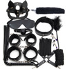 leather 12pcs black
