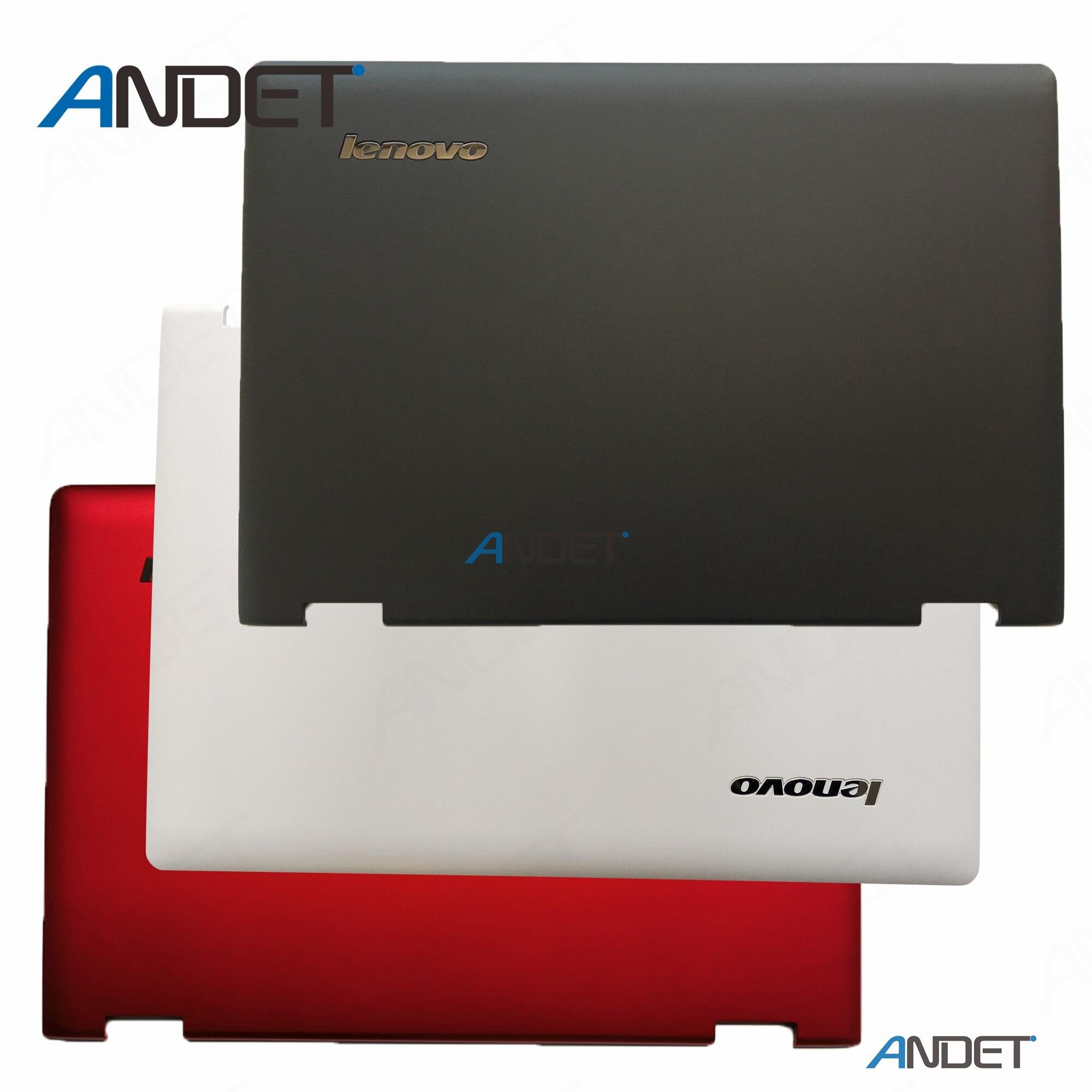 New Orig For Lenovo Flex 3 14 3-14 1470 1480 Yoga 500-14 LCD Back Cover Black Red White 46003R020002 46003R080002 46003R090002