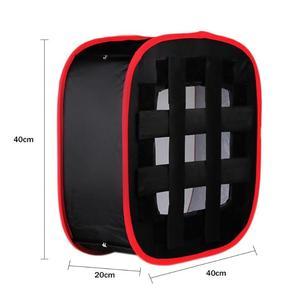 Image 5 - נייד מתקפל Softbox 40x40cm LED אור פנל מפוזר אור חדר עבור Yongnuo YN600 YN900 תאורה משנה עבור סטודיו