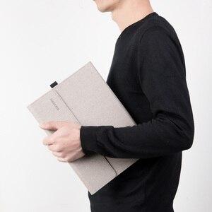 Image 2 - 남성 노트북 태블릿 용 Microsoft Surface Pro 6 새로운 프로 7 각도 폴리오 표면 pro 5 4 여성 노트북 가방