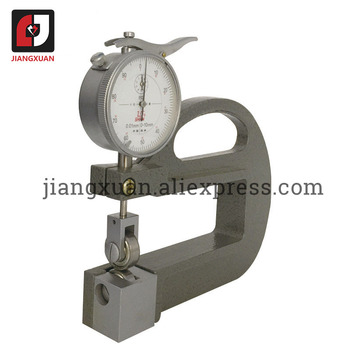 SHAN Mechanical Continuous Thickness Gauge 0.01mm(0-10MM) Thickness Meter For measurement of banded objects