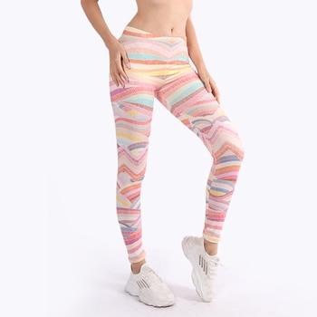 Brand Hot Sales Leggings Mandala Mint Print Fitness legging High Elasticity Leggins workout Legins Trouser Pants for women 1